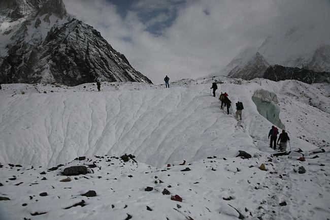 ледник Baltoro Glacier. Фото 2007 года