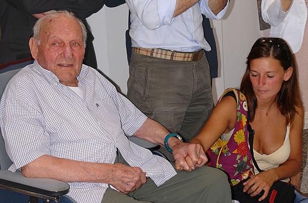 Рикардо Кассину 99 лет. 2008 год