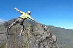 Highline в Патагонии