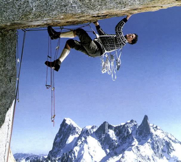 Первые шаги на ИТО (Aid climbing)