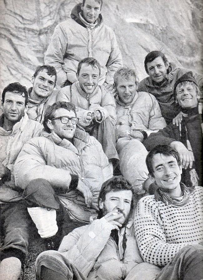 Спасатели и спасённые. Западный склон Пти-Дрю (Petit Dru,  3754 м) 1966 год