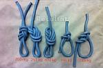 Тестирование узлов на одинарной верёвке, поперечная нагрузка