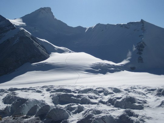Украинская экспедиция на Эверест 2012. Лагерь-2 установлен, турнир по теннису выигран!