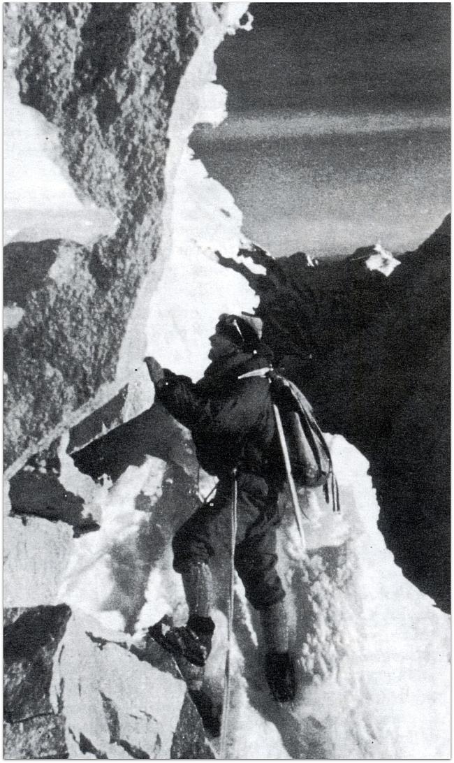 Первовосхождение на Chacraraju по северо-восточной стене в 1956 году