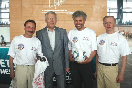 Украинская экспедиция на Эверест - 2012. Вернулись! Встреча экспедиции.