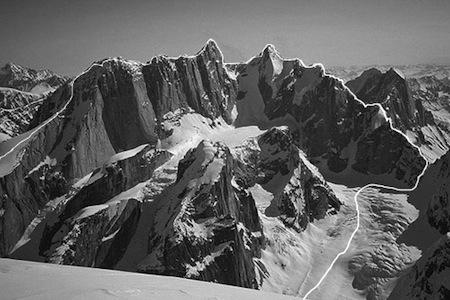 """Tooth Traverse"" (Ruth Gorge, Аляска). Фото Renan Ozturk"