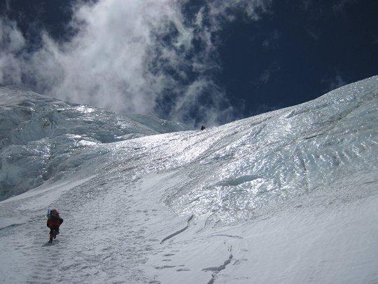 Путь на Северное Седло Эвереста