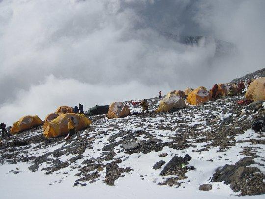 Эверест, штурмовой лагерь на 8300