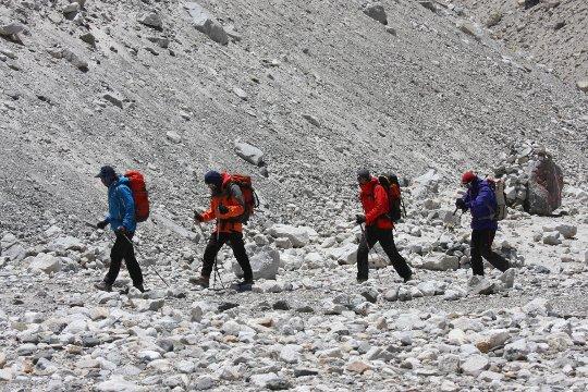 украинская экспедиция на Эверест