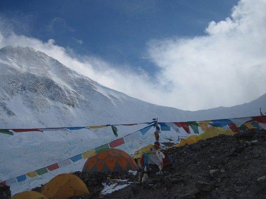 Эверест, лагерь АВС на 6400