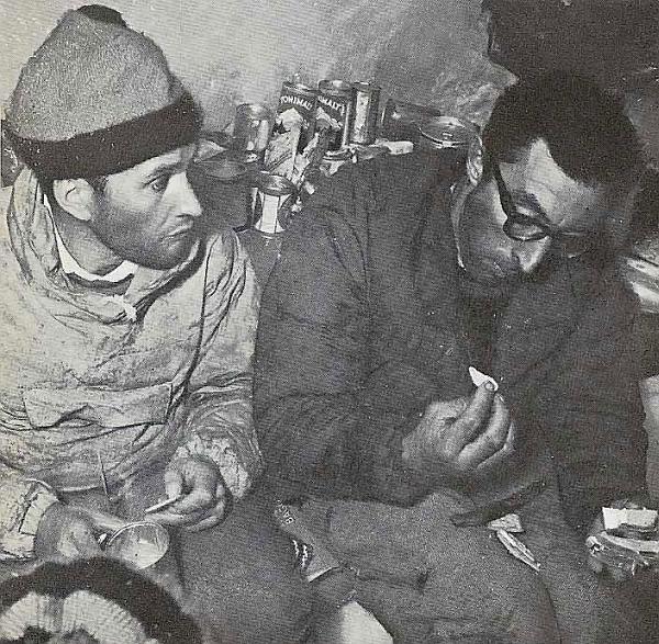Леонель Террай и Гвидо Маньоне (Lionel Terray, Guido Magnone)