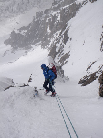 Спуск с Нанга Парбат по стене Kinshofer.