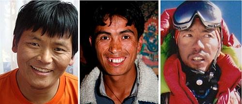 Lhakpa Rangdu Sherpa, Lahkpa Nuru Sherpa, Lakpa (Zarok) Sherpa