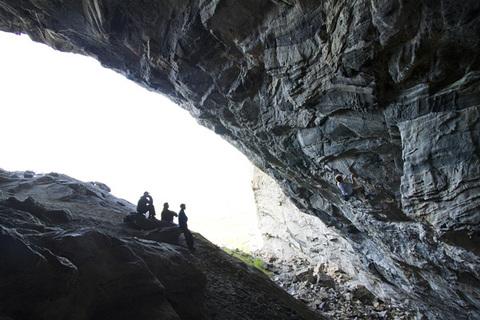 пещеры Flatanger, Норвегия