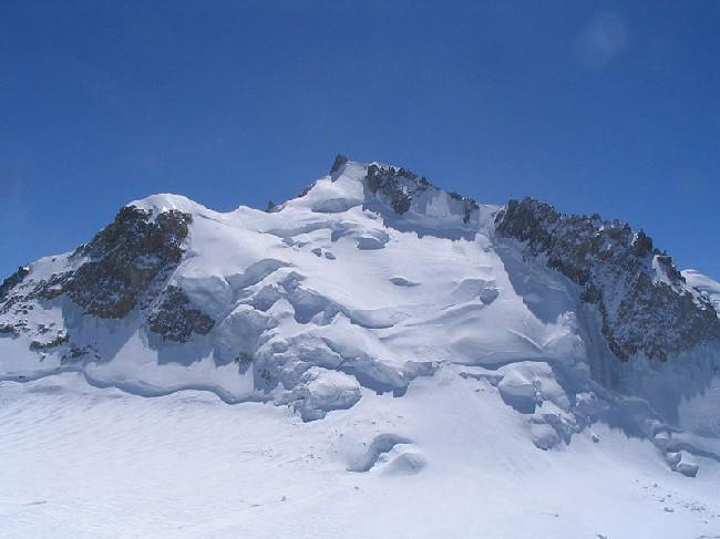 Склон вершины Мон-Моди (Monte Maudit, массв Монблан)