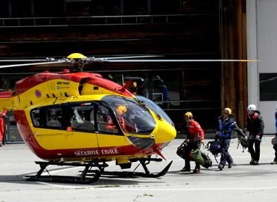 Спаскоманда готовиться вылететь в  Мон-Моди (Monte Maudit, массив Монблан) 12 июля