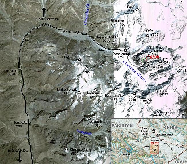 Карта региона К7