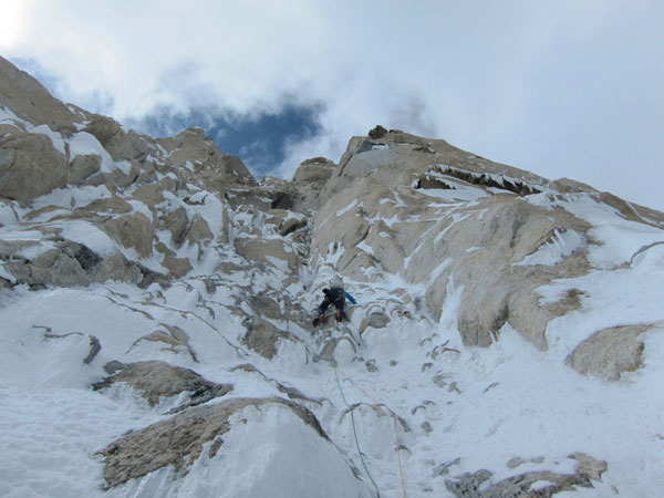 Впервые покорена восточная стена пика K7 (6935m)