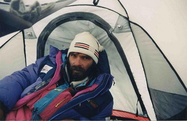 Г.Копейка. 8000м - в палатке лагеря 5