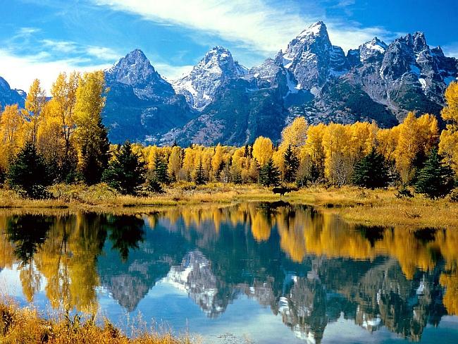 Национальный Парк Grand Tenton (Вайоминг, США)