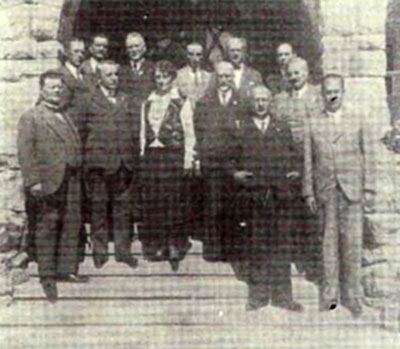 Участники Первого международного конгресса по альпинизму в Закопане