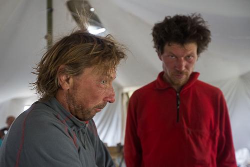 Александр Лавриненко и Максим Перевалов только что вернулись с восхождения на Замин-Кароре