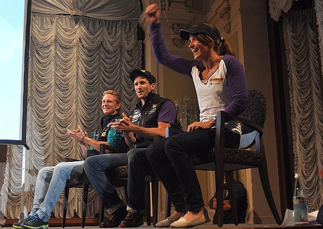 Arco Rock Legends 2012: Anna Stöhr, Kilian Fischhuber, Jacob Schubert