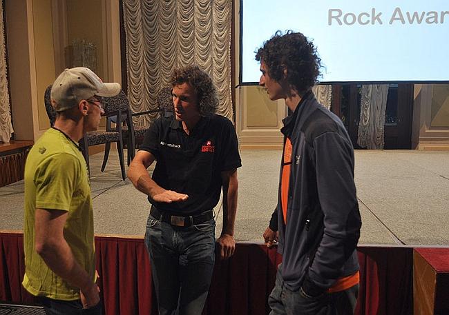Arco Rock Legends 2012: Iker Pou, Stefan Glowacz, Adam Ondra
