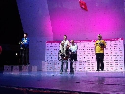 Giacobbo Dal Pra Silvia, Fran Brown, Валентина Куршакова на Чемпионате Мира по скалолазанию 2012