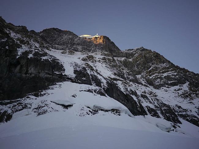 Северная стена Mt. Alberta (Скалистые горы, Канада)