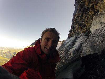 Ули Штек (Ueli Steck) - восхождение на Монк (Mönch, 4107 м)