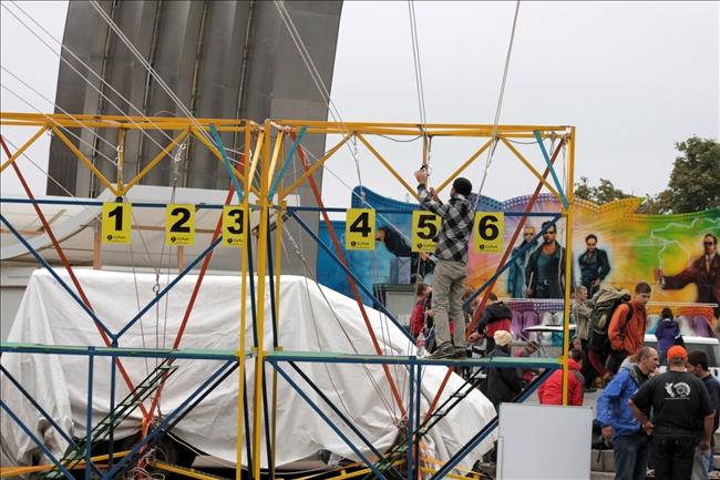 """Первые Международные открытые соревнования на Троллее - """"Вертикальный штурм"""". Фото Гхазали Надя"""