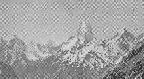 Фотография Muztagh Tower 1909 год