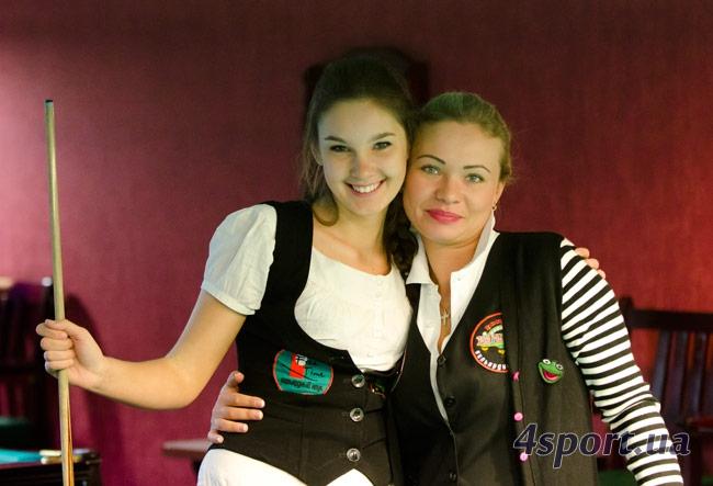 Хомичева Александра и Косяк Наталья