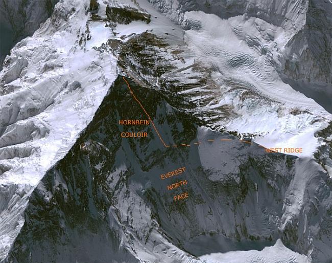Маршрут Kuriki Nobukazu по Западному склону на эверест