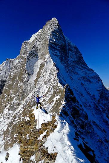 "Новый маршрут ""Prow of Shiva"", Индийские Гималаи, пик Shiva 6.142м"
