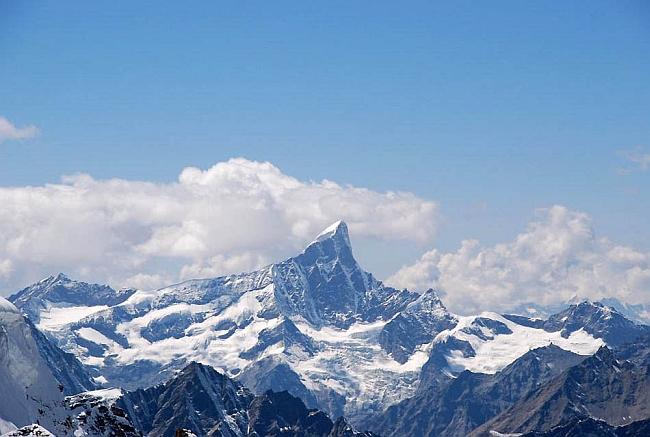 пик Shiva (6.142м) в Индийских Гималаях
