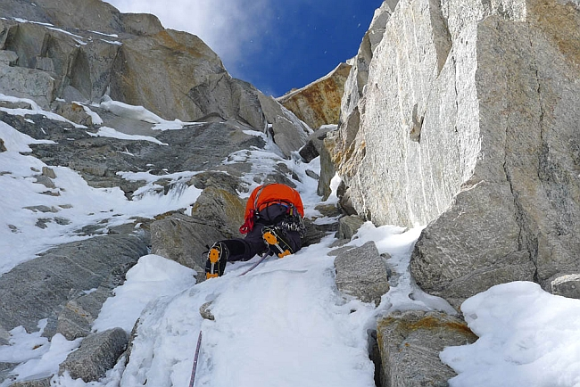 """Prow of Shiva"" - новый британский маршрут на пик Shiva (6.142м) в Индийских Гималаях"