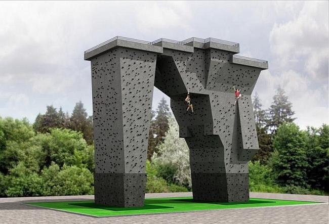 В Харькове строится скалодром в комплексе с памятником В.Высоцкому