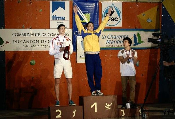 Зинченко Владимир - 1 место