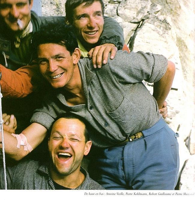 Французская команда альпинистов