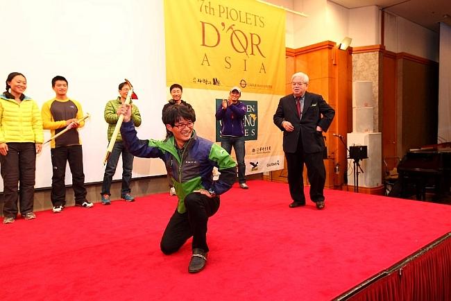 Призеры Золотой Ледоруб Азии 2012 года (Piolets D'Or Asia 2012) - Корейская команда