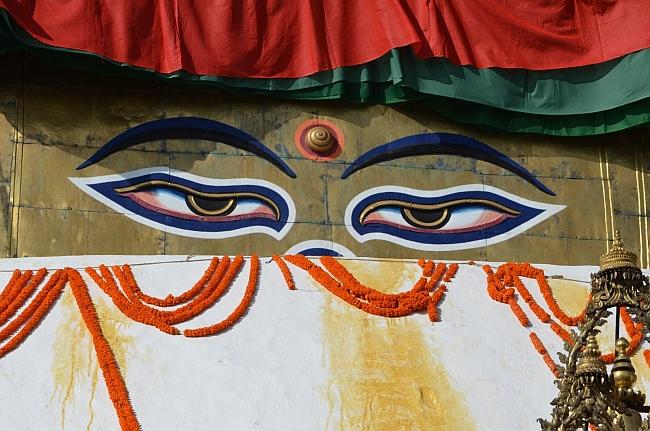 Глаза Будды...