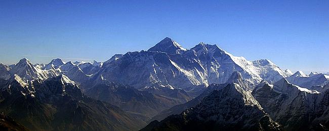 Эверест, вид с юга