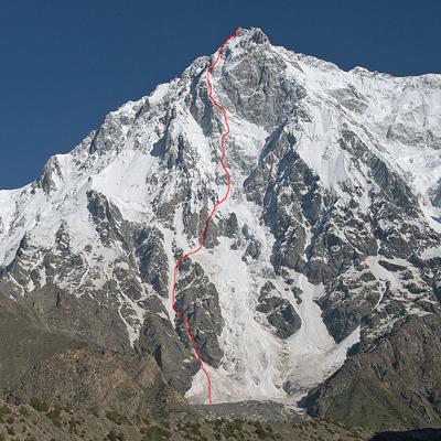 Рупальская стена Нанга-Парбат (8126м). Маршрут Стив Хаус (Steve House), Винс Андерсон Vince Anderson