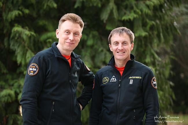 Борис Дедешко (Казахстан) и Денис Урубко (Казахстан)