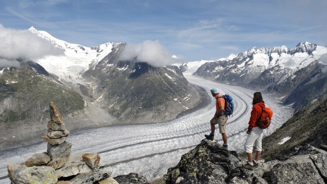 Ледник Алеч (Aletsch Glacier, Швейцария)
