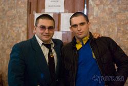 Рінат Заріпов та Воробей Богдан