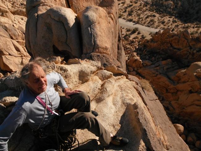 Fred Beckey в свои 90 лет смог пройти 100 метровый маршрут