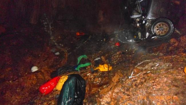 """Трагедия в пещере """"Монастырь-Чокрак"""" (Крым). Фото спасательных работ"""
